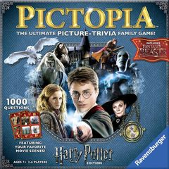 Pictopia: Harry Potter Edition Family Trivia Board