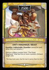 Bagoom, the Friendly Beast - Foil