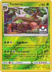 Torterra - 9/156 - Pokemon League Promo