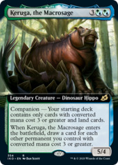 Keruga, the Macrosage - Extended Art