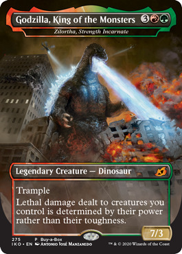Godzilla, King of the Monsters - Zilortha, Strength Incarnate