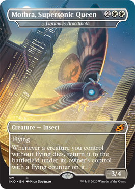 Mothra, Supersonic Queen - Luminous Broodmoth