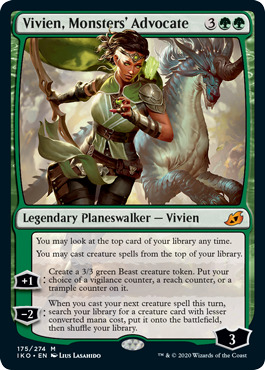 Vivien, Monsters Advocate - Foil