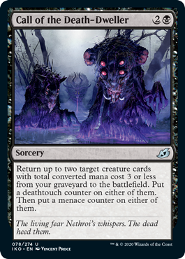 Call of the Death-Dweller - Foil