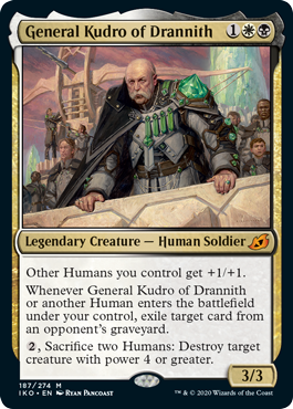 General Kudro of Drannith - Foil