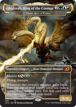 Ghidorah, King of the Cosmos - Illuna, Apex of Wishes - Foil