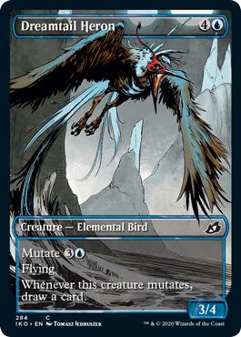 Dreamtail Heron - Showcase