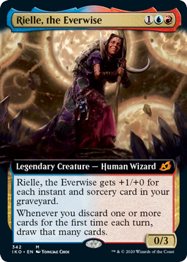 Rielle, the Everwise - Foil - Extended Art