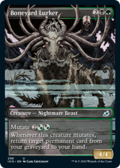 Boneyard Lurker - Foil - Showcase