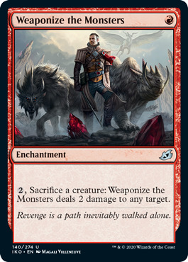 Weaponize the Monsters - Foil