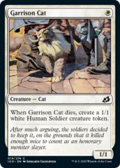 Garrison Cat - Foil