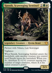 Yannik, Scavenging Sentinel - Collector Pack Exclusive