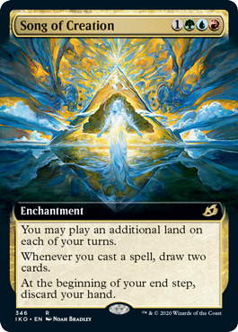 Song of Creation - Foil - Extended Art