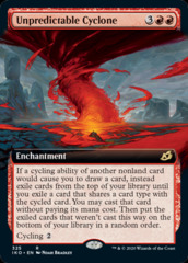 Unpredictable Cyclone - Extended Art