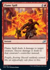 Flame Spill - Foil