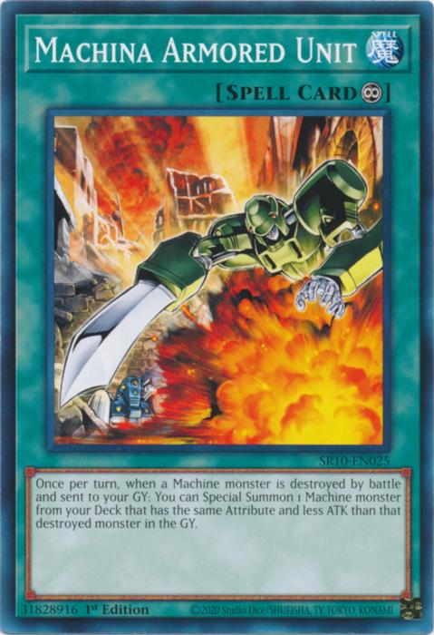 Machina Armored Unit - SR10-EN025 - Common - 1st Edition