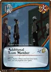 Additional Team Member - M-662 - Rare - 1st Edition - Foil