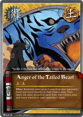 Anger of the Tailed Beast - J-648 - Uncommon - Unlimited Edition - Foil