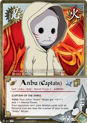 Anbu (Captain) - N-867 - Rare - 1st Edition - Foil