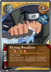 Flying Swallow - J-711 - Common - 1st Edition - Foil