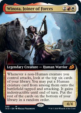 Winota, Joiner of Forces - Foil - Extended Art