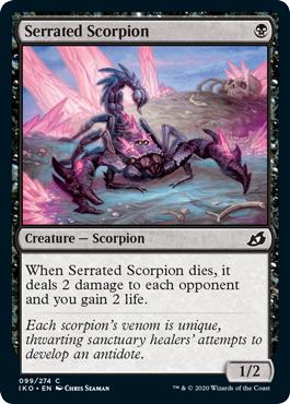 Serrated Scorpion - Foil