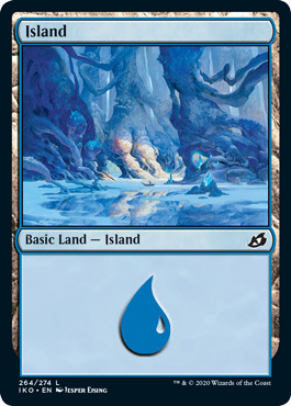 Island (264) - Foil