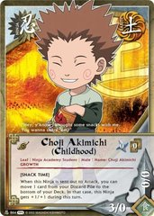Choji Akimichi (Childhood) - N-864 - Common - 1st Edition - Foil