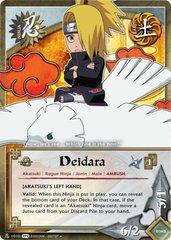 Deidara - N-1010 - Uncommon - Unlimited Edition