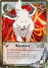 Akamaru - N-1052 - Common - Unlimited Edition - Foil