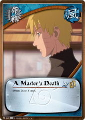 A Master's Death - M-843 -  - 1st Edition