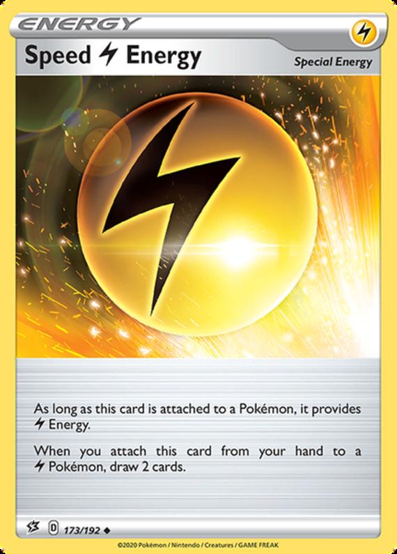 Speed L Energy - 173/192 - Uncommon