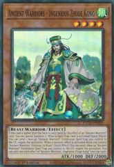 Ancient Warriors - Ingenious Zhuge Kong - ETCO-EN023 - Super Rare - 1st Edition