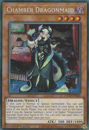 Chamber Dragonmaid - ETCO-EN026 - Starlight Rare - 1st Edition
