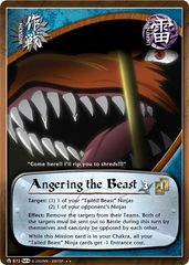 Angering the Beast - M-872 - Rare - 1st Edition - Foil