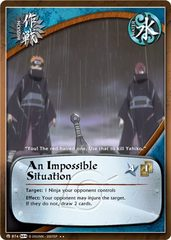 An Impossible Situation - M-874 - Rare - 1st Edition - Foil