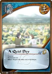 A Quiet Day - M-914 - Common - Unlimited Edition