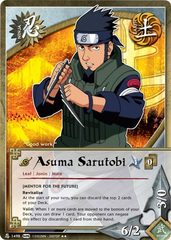Asuma Sarutobi - N-1498 - Rare - Unlimited Edition
