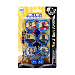 Justice League Unlimited Dice and Token Pack