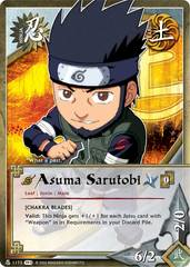 Asuma Sarutobi - N-1173 - Common - 1st Edition - Foil