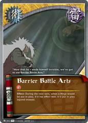 Barrier Battle Arts - J-832 - Rare - 1st Edition - Foil