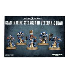 Adeptus Astartes Sternguard Vereran Squad