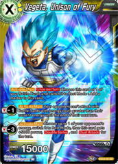 Vegeta, Unison of Fury - EX12-02 - EX