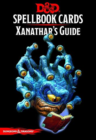 Dungeons and Dragons 5th Edition RPG: Spellbook Cards - Xanathars Guide to Everything