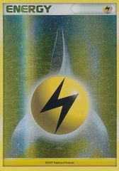 Lightning Energy - 2007 Unnumbered - Reverse Holo