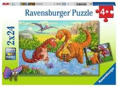 Dinosaurs at play