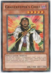Gravekeeper's Chief - SDMA-EN011 - Common - 1st Edition