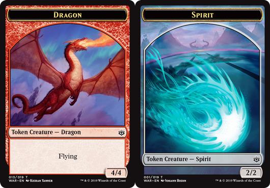 Dragon Token // Spirit Token - Challenger 2020