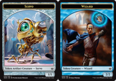Servo Token // Wizard Token -