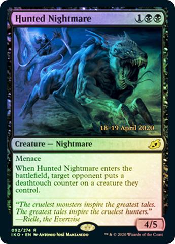 Hunted Nightmare - Foil - Prerelease Promo
